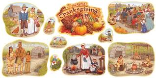 thanksgiving bulletin board set t 8264
