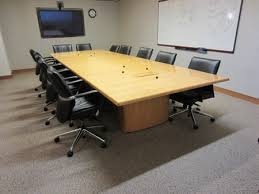 Used Office Furniture Ct by Gunlocke Conference Table Used Conference Tables Ma Ct Nj