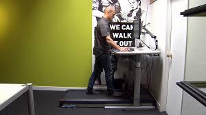 Hydraulic Desk Companies Using Treadmill Hydraulic Desks To Combat Sitting Woes