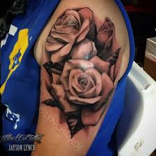 lynchmade roses from fresno tattoo expo black and grey roses high