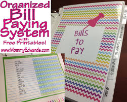 homemade planner templates 129 best productivity organization printables images on pinterest organized bill paying system with free printables
