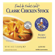 cuisine de a 0 z more than gourmet fond de poulet gold chicken stock 16