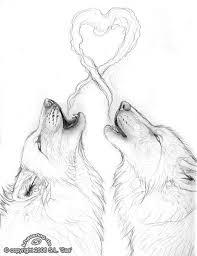 drawn wolf werewolf pencil and in color drawn wolf werewolf