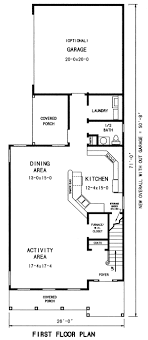 narrow lot lake house plans 29 best home floor plans images on house floor