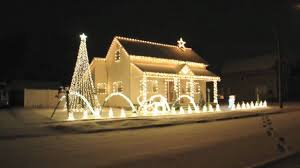 christmas light show house music nice light show cant wait to start putting our decorations our