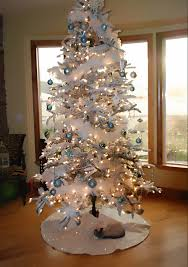 Furniture Christmas Tree Decorations Ideas White Christmas Tree