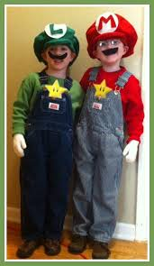 Mario Luigi Halloween Costume Diy Luigi Mario Costumes Coupon Closet