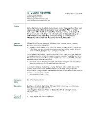 resume for college freshmen templates resume template college student college freshman resume sle