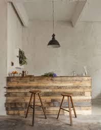 cuisine en palette bois bar en bois de palette
