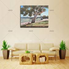 Vintage Home Decorations Online Get Cheap Oil Paintings Houses Aliexpress Com Alibaba Group
