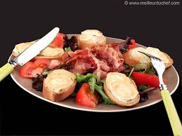cuisine salade salade de chèvre chaud recette de cuisine avec photos