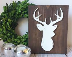 deer decor for home gorgeous inspiration deer decor for home etsy home decor