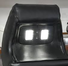 Electric Reclining Loveseat Power Reclining Sofa With Led Lighting Center Consoles Upholstered