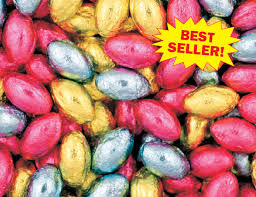 bulk easter eggs bulk pack chocolate easter egg hunt eggs