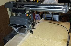 Craftsman Radial Arm Saw Table A Virtual Tour Of My Humble But Developing Woodworking