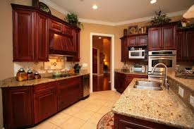 homey ideas kitchen wall colors with dark oak cabinets paint