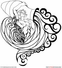 tribal aquarius tattoos designs