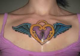 locket chest 41 girly tattoos creativefan