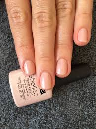 cnd shellac nails bare chemise simply elegant and u0027barely there