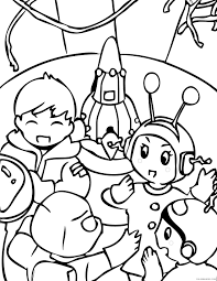 space coloring pages earth satellite coloring4free coloring4free com