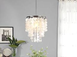 White Shell Chandelier How To Make A Capiz Shell Chandelier Capiz Shell Lighting Capiz