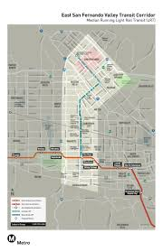 Valley Metro Light Rail Map by Measure M Rail Or Bus Rapid Transit On Van Nuys Boulevard The