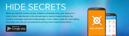 android secrets hide secrets android app home