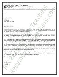 Best Master Teacher Resume Example by Letter Application Sample Interest Music Teacher Resume Samples