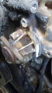 Ford Explorer Water Pump - water pump do the bolts need to be sealed 2001 2 3 duratec