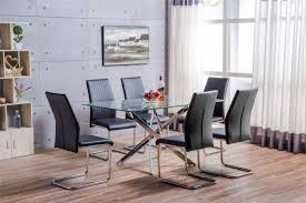 Modern Dining Chairs Leather Dining Room Leather Dining Chairs With Metal Legs Unique Dining