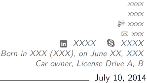 latex resume template moderncv banking 365 skype icon on moderncv tex latex stack exchange