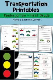 transportation ideas for math kindergarten nana water lesson plans