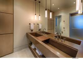 sinks pendant lights bathroom home near lake tahoe california
