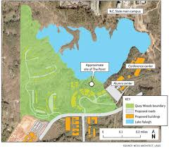 Nc State Campus Map Nature Lovers Oppose Location Of Ncsu Chancellor U0027s New Home Just