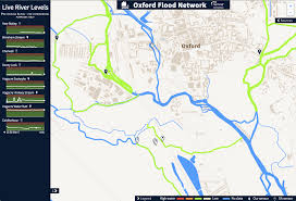 Put On The Map Data Visualisation For The Oxford Flood Network Nominet