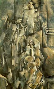 violin and pitcher 1910 georges braque wikiart org