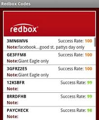 redbox codes iphone and android apps put free rentals in