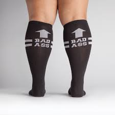 badass stretch it knee high sock it to me