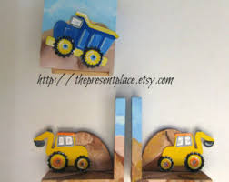 personalized bookends baby truck bookends etsy