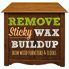 how to remove wax from wood table wood can be ruined by sticky buildup here s how to remove wax