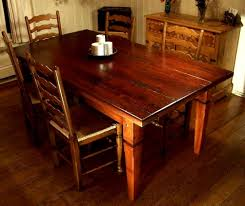 rustic dining table legs breathtaking rustic cherry table ideas laimed wood dining table