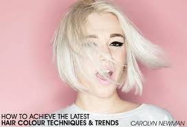 the latest hair colour techniques how to achieve the latest colour techniques trends bangstyle