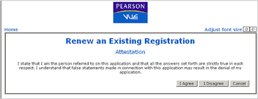 renew an existing registration