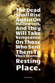 Poem On Halloween Scary And Funny Halloween Quotes And Wishes Quotes U0026 Sayings