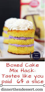 bakery cake boxed cake mix hack tastes like you paid 6 a slice dinner