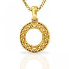 gold round necklace images Gold circle pendant gold pendant necklace jacknjewel jpeg