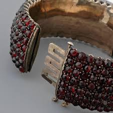antique garnet bracelet images Antique garnet bangle bracelet jpg
