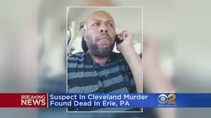 suspect in cleveland facebook murder found dead in erie pa wcbs