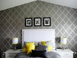 large wall stencils for living room and bedroom home decor blog
