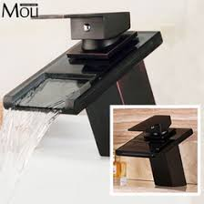 Waterfall Bathroom Faucet Canada by Canada Black Bathroom Faucets Widespread Supply Black Bathroom